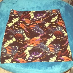 Butterfly wing mini skirt NWOT